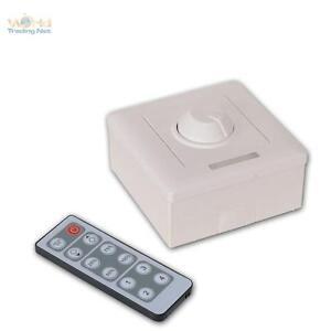 LED-Aufputz-Dimmer-mit-IR-Fernbedienung-PWM-Dimmer-12V-Drehregler-fuer-LEDs
