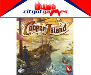 Cooper Island Board Game Brand New Pre Order