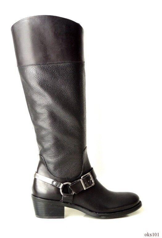 ultimi stili New VINCE CAMUTO nero nero nero leather HARNESS STRAP riding stivali 5.5 - classic  alta qualità generale