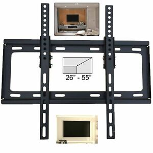 UK-26-55-in-Slim-inclinable-Support-mural-TV-support-LCD-plasma-pour-DEL-3D