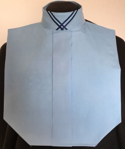 Collar Embellishment English Hunt Seat Ratcatcher Light Blue Show Bib Dickie