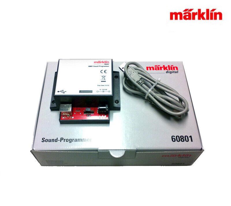Märklin 60801 Sound-Programmer für mSD 2 Decoder ++ NEU in OVP