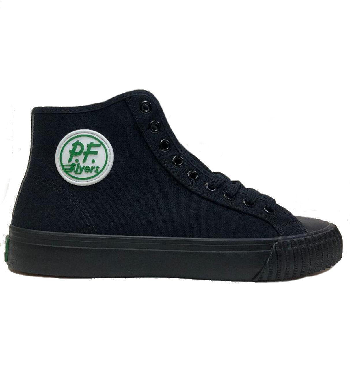 PF Flyers Flyers PF Sandlot Center Hi Black Shoes 781fe2