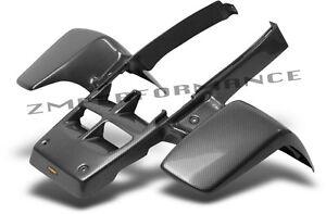 NEW YAMAHA BANSHEE YFZ 350 PLASTIC BLACK CARBON FIBER STANDARD REAR FENDER ATV, Side-by-Side & UTV Fenders ATV, Side-by-Side & UTV Parts & Accessories