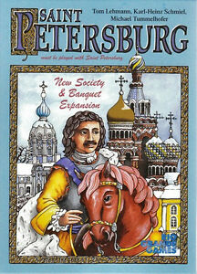 Rio Grande Games Saint Petersburg Expansion RARE Hard to FIND board game