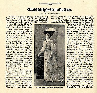GüNstiger Verkauf C. D. Wohltätigkeitstoiletten * Text / Bilddokument Von 1903 Unterscheidungskraft FüR Seine Traditionellen Eigenschaften