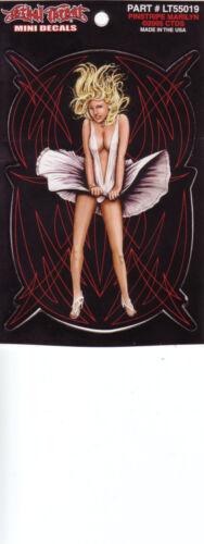 Pegatinas modelo Pinstripe Marilyn 10,0 x 6,7 cm