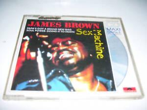JAMES BROWN - SEX MACHINE 4tr. CD MAXI GERMANY