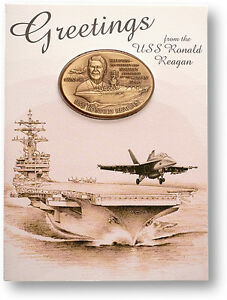U-S-Navy-USS-Ronald-Reagan-CVN-76-Challenge-Coin-Card-Display