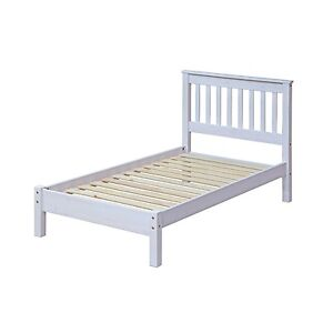 Corona White Wash Mexican Pine Furniture 3ft Single Solid