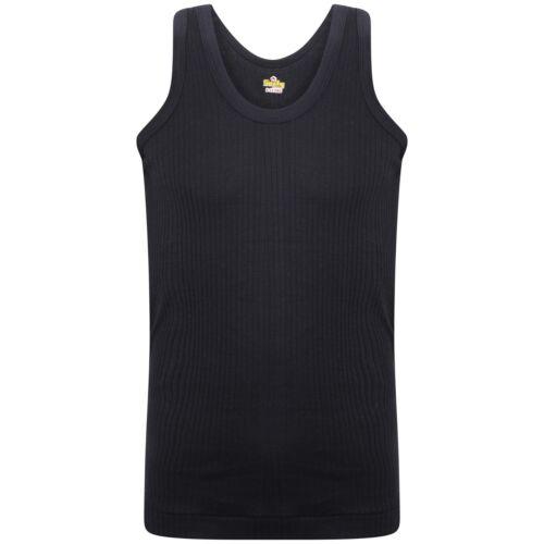 SOFTY® Kids Boys Children Vest Cotton Sleeveless Tank Top School Wear interlock