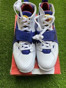 Nike-Air-Trainer-Huarache-Men-s-Size-11-White-Regency-Purple-679083-107