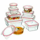Glasslock Oven Safe Glass Container - Set of 9