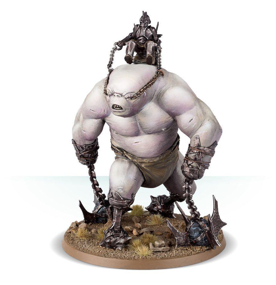 Il Signore degli Anelli Hobbit WARHAMMER TROLL Brute figure miniatura NUOVA
