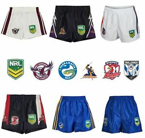 NRL-Supporter-Shorts-Juniors-Rugby-League-Storm-Bulldog-Sea-Eagles-Eels-Roosters