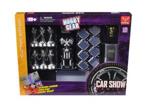 Phoenix Toys 1:24 Hobby Gear Car Show Series Diorama Set for Diecast Model Toys