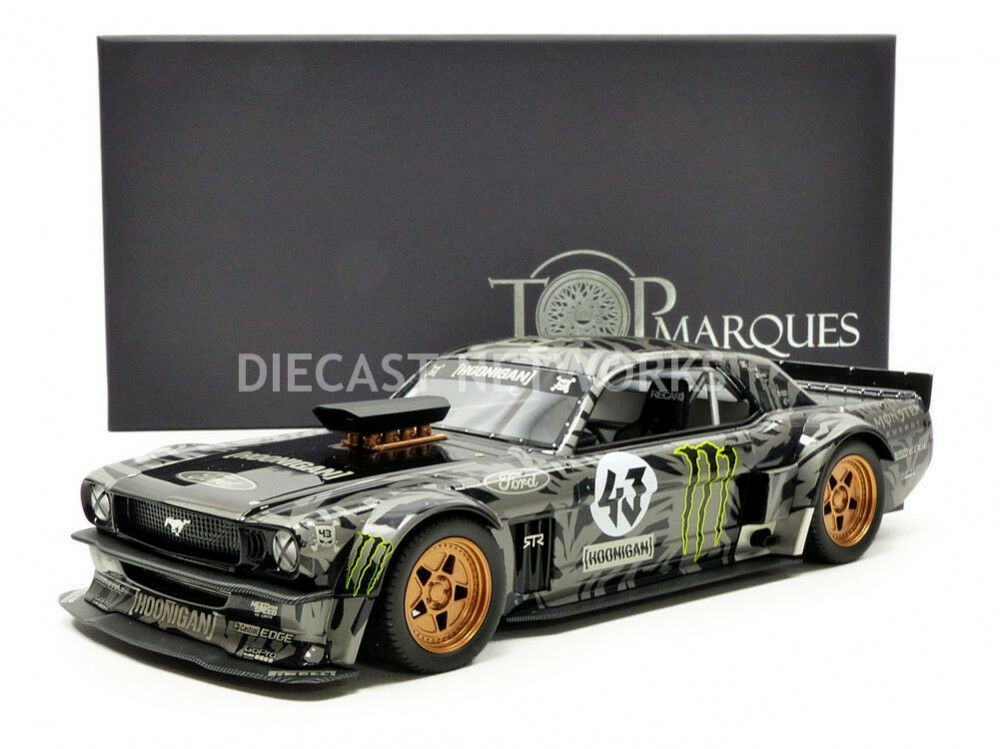 Top Marques Coleccionables -  - Ford Mustang Hoonigan - 1965-Ken Block-Top