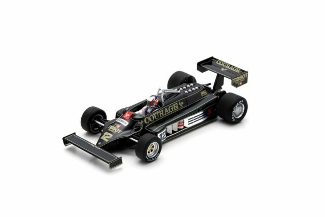Lotus 87 (Nigel Mansell - Practice British GP 1981) Resin Model Car S5351