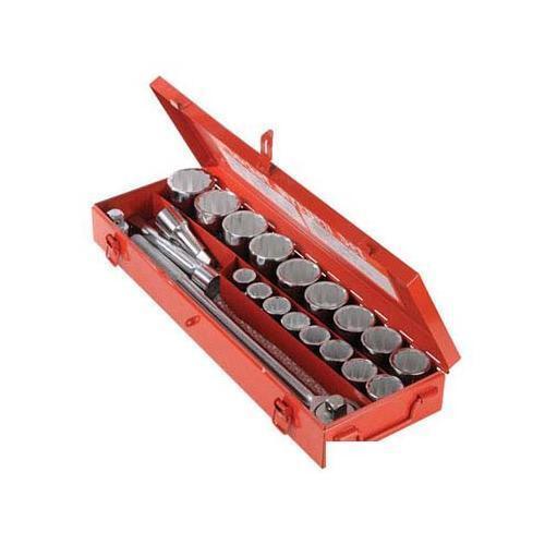 Silberline Socket Set 3 4  Drive Metric 21pce 21pce Mechanical Engineering Tool