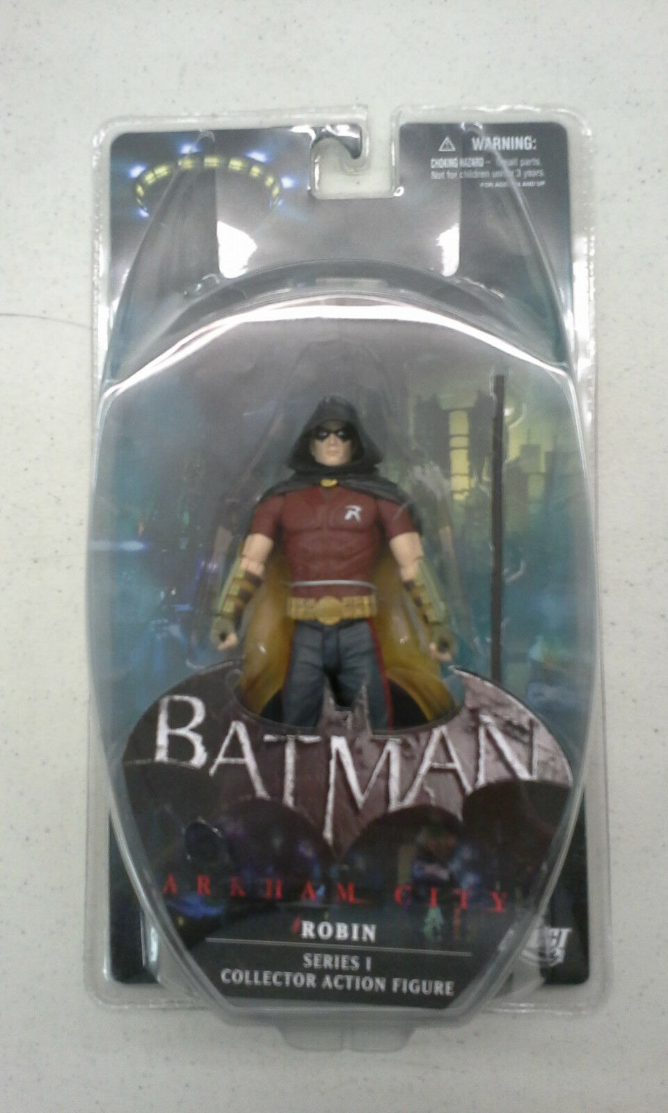 Batman Batman Batman Arkham City ROBIN Series 1 I Collector Action Figure New Sealed fb70ea