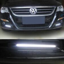2* 12V LED COB Car Auto DRL Driving Daytime Running Lamp Fog Light White 14cm JT