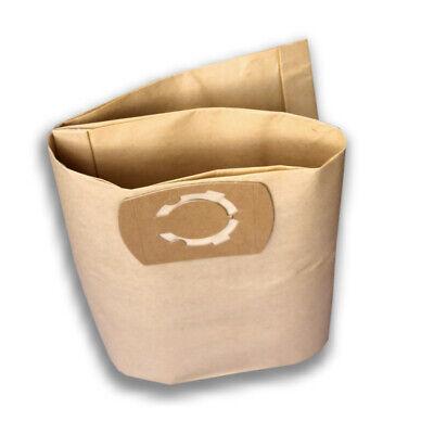 10 sacchetti per aspirapolvere adatti per Parkside PNTS 1300 D3