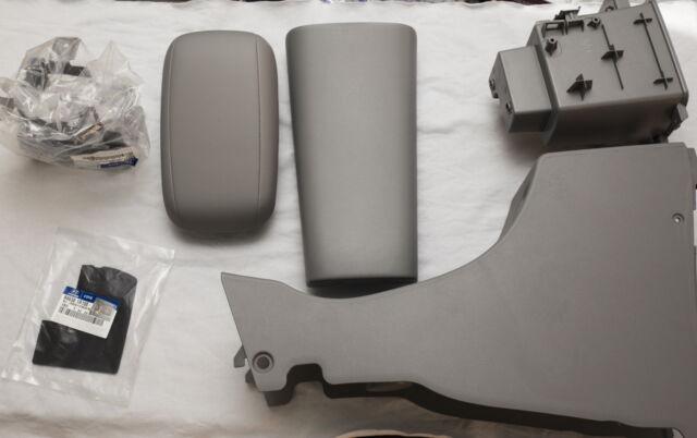 8M Gray Center Console Armrest Set 6Pcs For Hyundai ACCENT SOLARIS 2011 2015