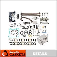 EGR Delete Kit Oil Cooler Gaskets Blue Spring Upgrade 03 07 Ford 6.0 Powerstroke