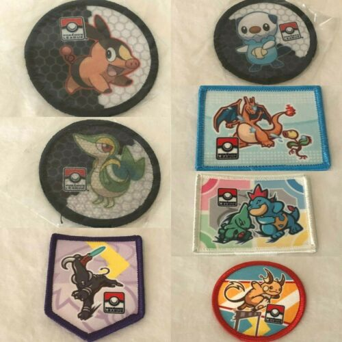 Pokemon TCG League Promo CHOICE of Patches HGSS Charizard Raichu Larvitar Snivy