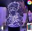 thumbnail 3 - Anime 3d Lamp Naruto Sasuke Kakashi Hinata Obito Itachi Acrylic LED Light Remote