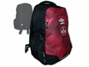 Umbro-1-FC-Nuernberg-Rucksack-rot-FCN-Backpack-Der-Club-Fan-Daybag-45x30x20-cm