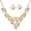 Fashion-Jewelry-Crystal-Choker-Chunky-Statement-Bib-Pendant-Women-Necklace-Chain miniature 80