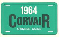 1964 Corvair Owners Manual