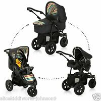 Hauck Disney Winnie The Pooh Tidytime Trio Viper Travel System Pram Pushchair+rc