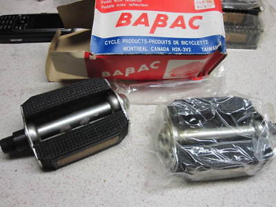 MUSCLE BIKE PEDALS SPEEDWAY VINTAGE BIKE BICYCLE PEDAL PEDALS 1//2 NOS NIB