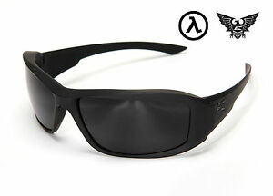 EDGE TACTICAL EYEWEAR HAMEL THIN TEMPLE GLASSES BLACK / G15 LENS / XH61-G15-TT