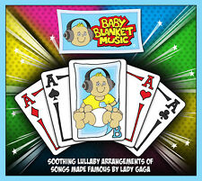 Baby Blanket Music CD (Lady Gaga) - Soothing Lullaby Arrangements of Songs