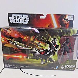 Disney-Hasbro-Star-Wars-STORMTROOPER-amp-ELITE-SPEEDER-BIKE-ACC-New-Unopened-Box