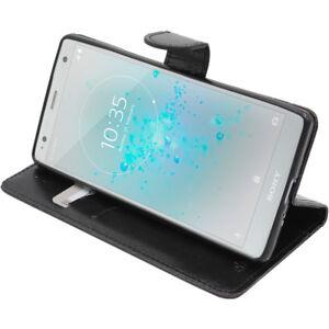 Ebeststar Etui Portefeuille Housse Coque Sony Xperia Xz Xz1 Xz2 Compact/premium