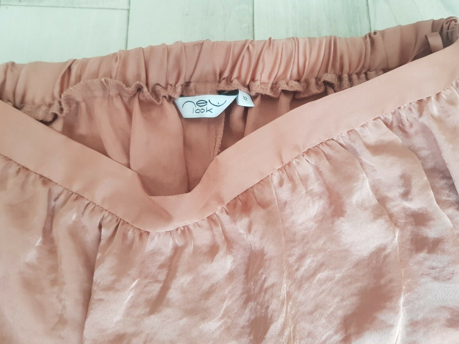 Long Soft Pink Salmon Dress from New look