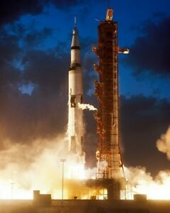 New 8x10 Photo: Apollo 4 (IV) Unmanned Lift Off from ...