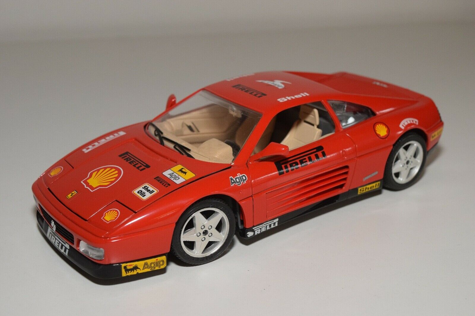 V 1 18 BBURAGO BURAGO FERRARI 348TB 348 TB 1989 VIRAGES NEAR MINT CONDITION