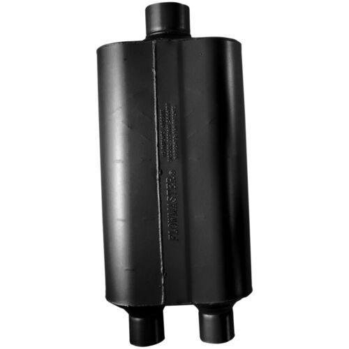 """Flowmaster 524553 Super 50 Series Series Muffler 2.25/"""" Dual In//3/"""" Center Out"""