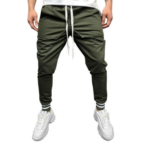Men Hip Hop Pants Sport Fitness Joggers Trousers Streetwear Pants Gym Sweatpants