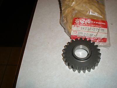 New NOS Genuine Suzuki Transmission Gear RM 125 1989-1991     24331-27C10