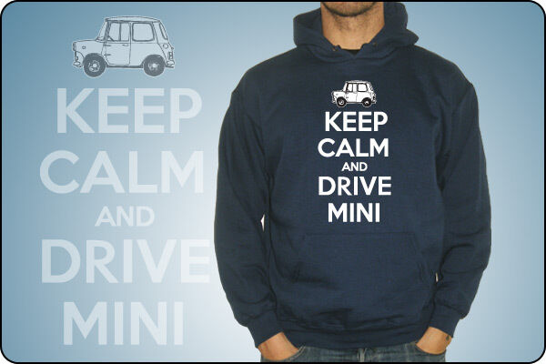UNISEX SWEATSHIRT OR BABY KEEP CALM AND CARRY ON - KEEP CALM AND DRIVE MINI
