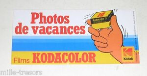 Autocollant-KODAK-PHOTOS-de-VACANCES-Films-KODACOLOR-Vintage