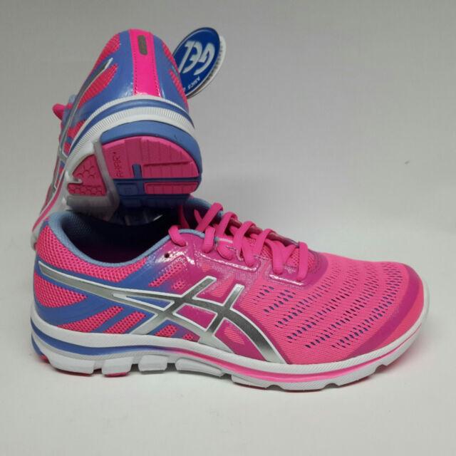 Asics Gel Electro 33 flash pink/silver  Women Damen Laufschuhe Gr.39 Running