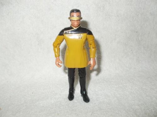 Action Figure Star Trek Next Generation Geordi la Forge Dress Uniform 4.5 inch