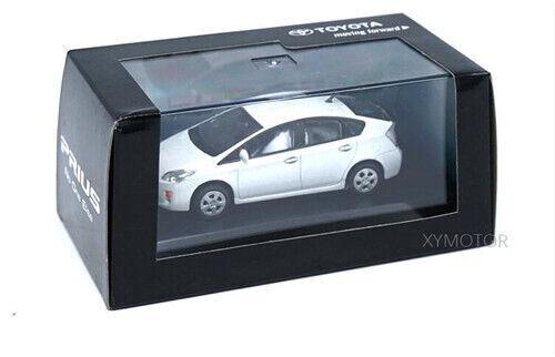1//43 Toyota Prius Diecast Car Model Toy 1PCS with Original box White//Silver blue